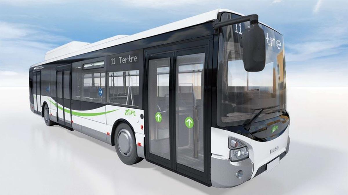 74 nouveaux bus au gaz naturel pour Nantes Métropole