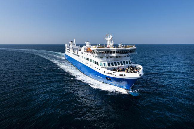 Le premier ferry GNL d'Am�rique du Nord en route pour le Qu�bec