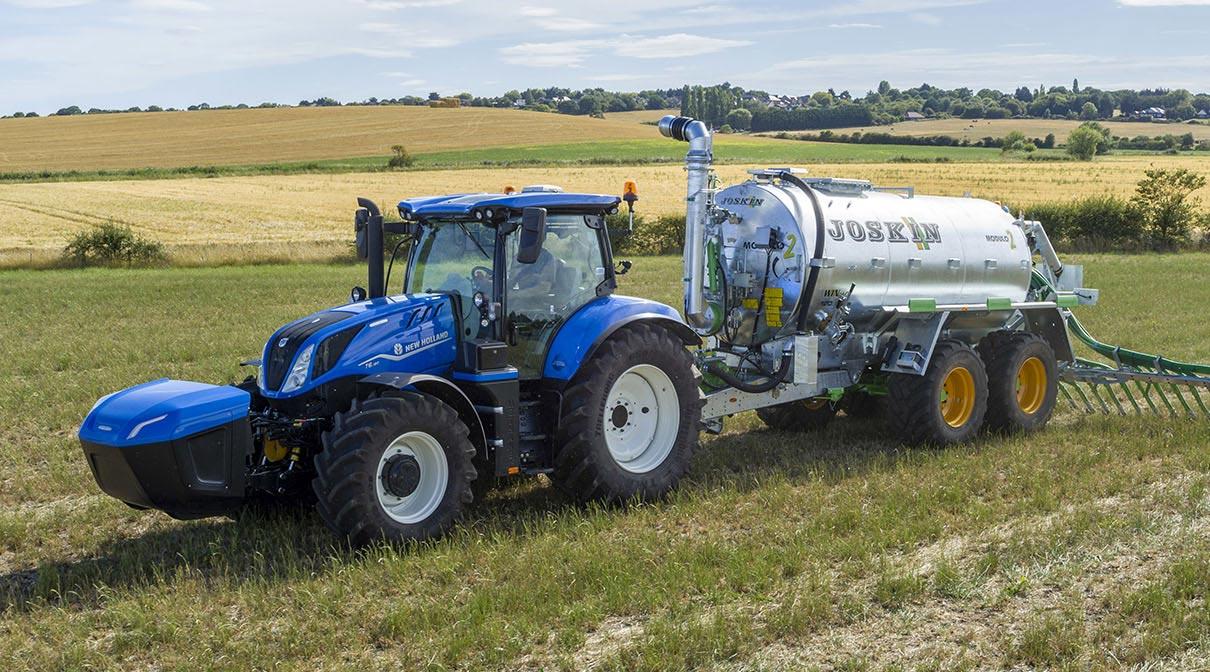 New Holland T6 Methane Power : le premier tracteur au gaz entame sa commercialisation
