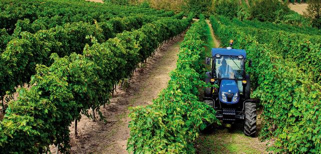 Le tracteur au méthane de New Holland présenté à Milan