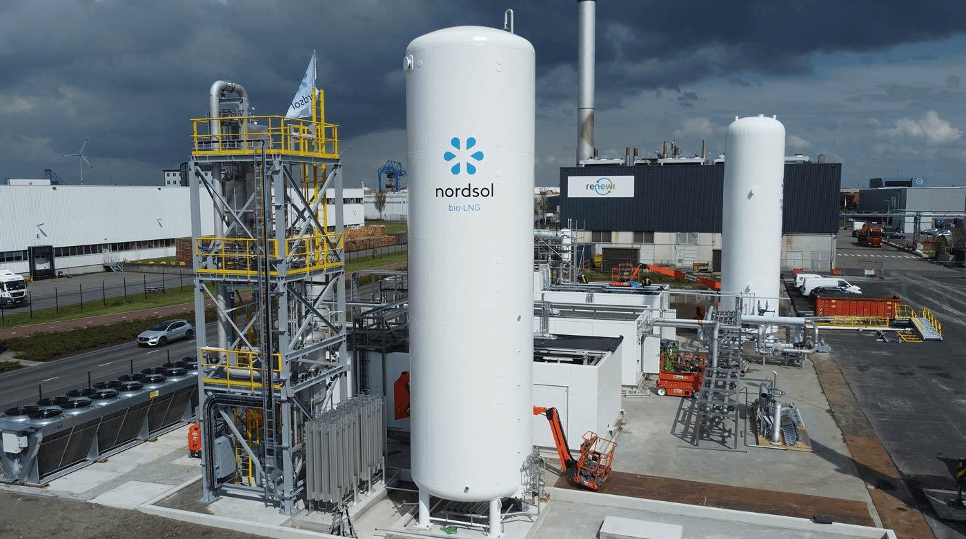 La première usine bio-GNL des Pays-Bas bientôt opérationnelle