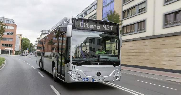 Le nouveau Mercedes Citaro NGT en premi�re mondiale � Busworld