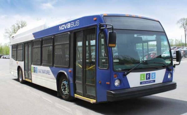 Nova Bus va livrer 20 bus au gaz naturel aux Etats-Unis
