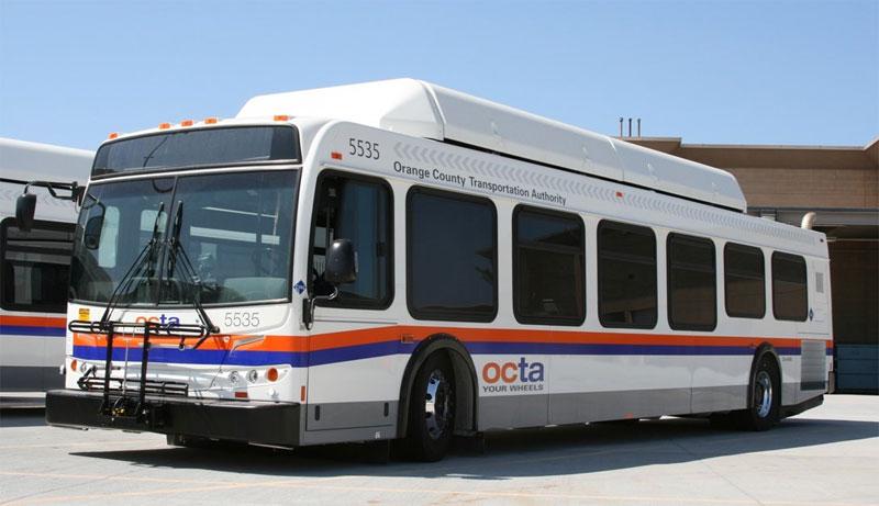 USA - New Flyer va livrer 212 nouveaux bus GNV au comt� d'Orange