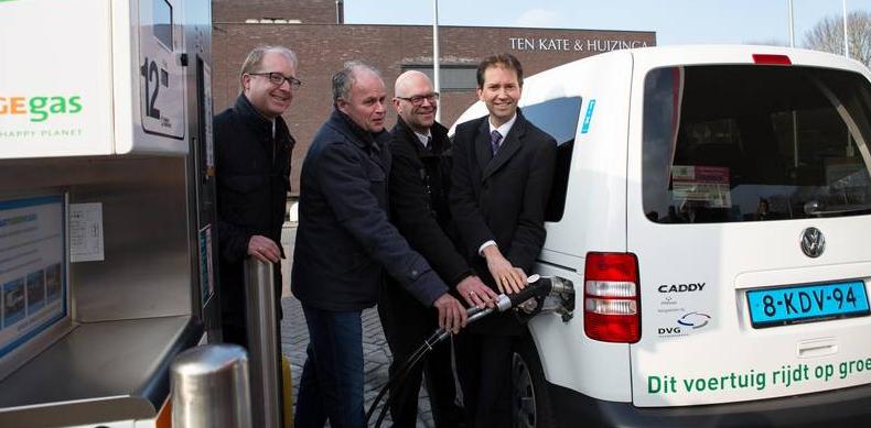 Pays-Bas - OrangeGas ouvre sa premi�re station biogaz dans la province d�Overijssel