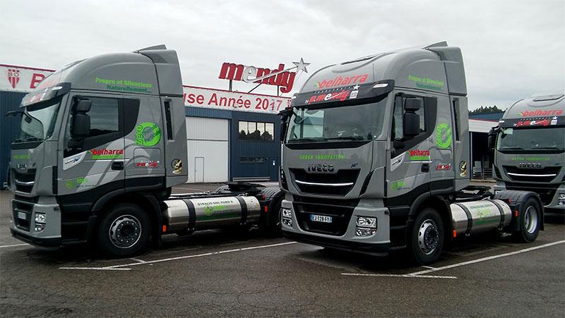 Les Transports P. Mendy s'équipent de trois nouveaux camions GNL
