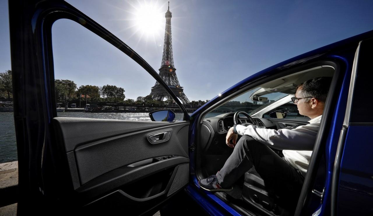 Un Barcelone - Paris en Seat Leon GNV pour 45 euros