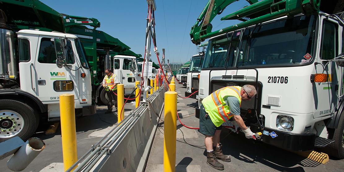 USA – La Pennsylvanie finance 281 camions au gaz naturel