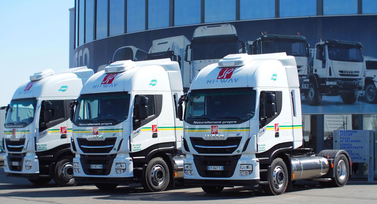 Camions GNL: les transports Perrenot reçoivent leurs premiers Stralis NP 460