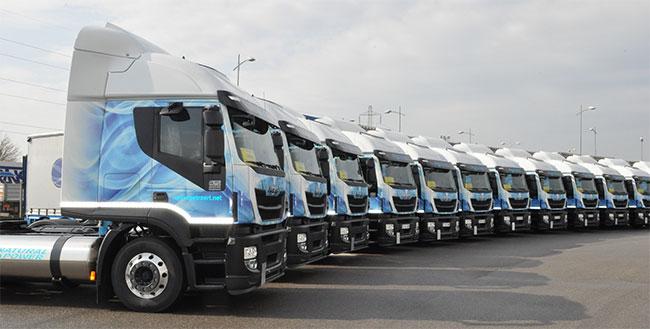 15 Iveco Stralis GNL pour le transporteur italien Pe.Tra
