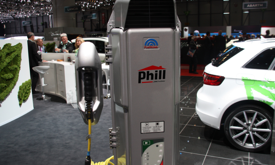Phill - La mini-station GNV � installer � domicile