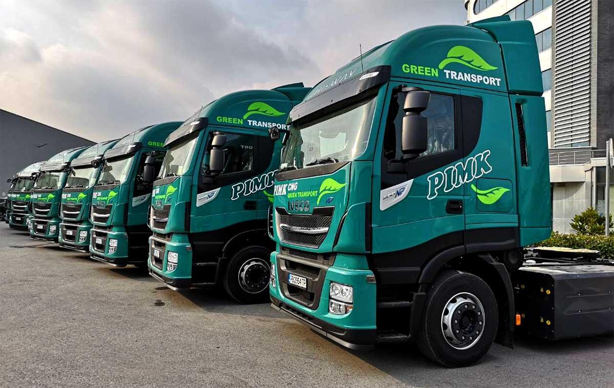 Bulgarie : PIMK intègre 50 camions au gaz naturel à sa flotte