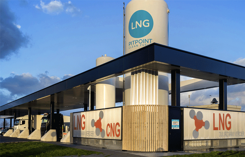 Pays-Bas : PitPoint étend son réseau de stations au GNL