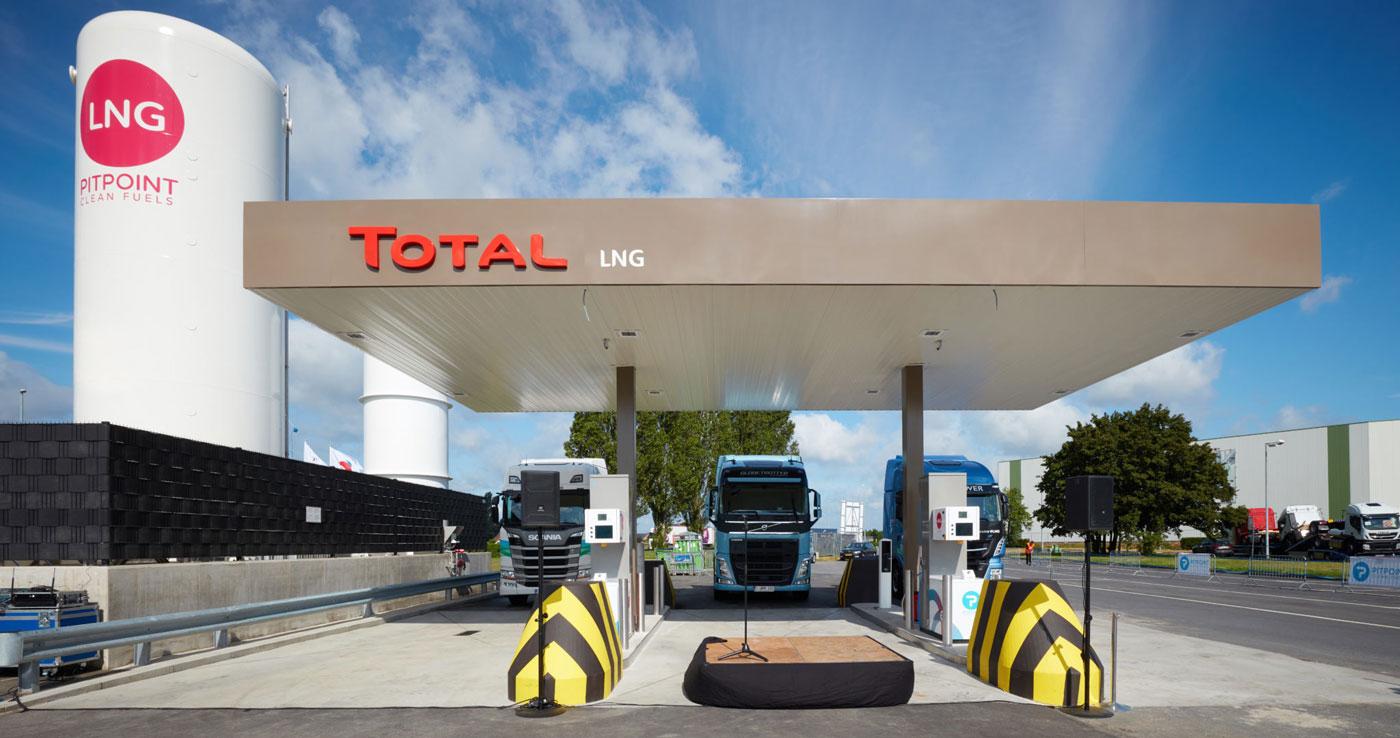 Belgique : Pitpoint et Total ouvrent une station GNL à Rekkem