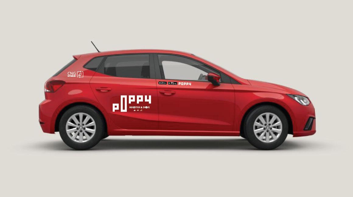 Autopartage : Poppy choisit la Seat Ibiza GNV