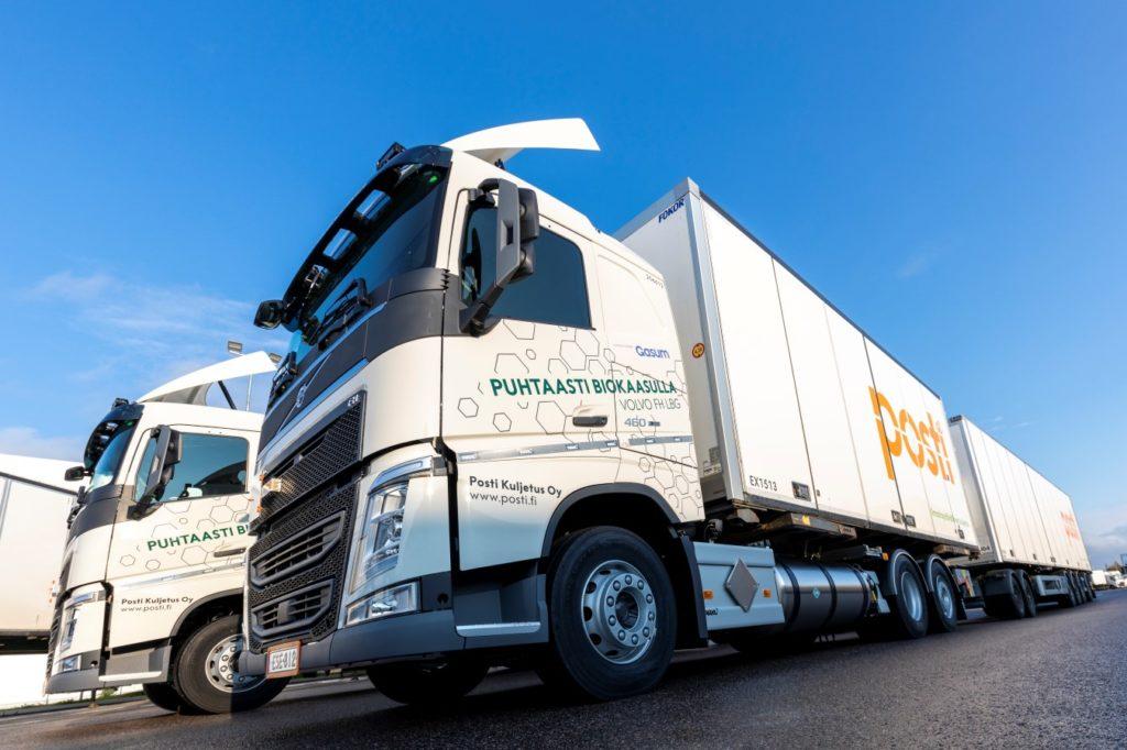 Finlande : Posti acquiert 10 camions au bioGNL supplémentaires