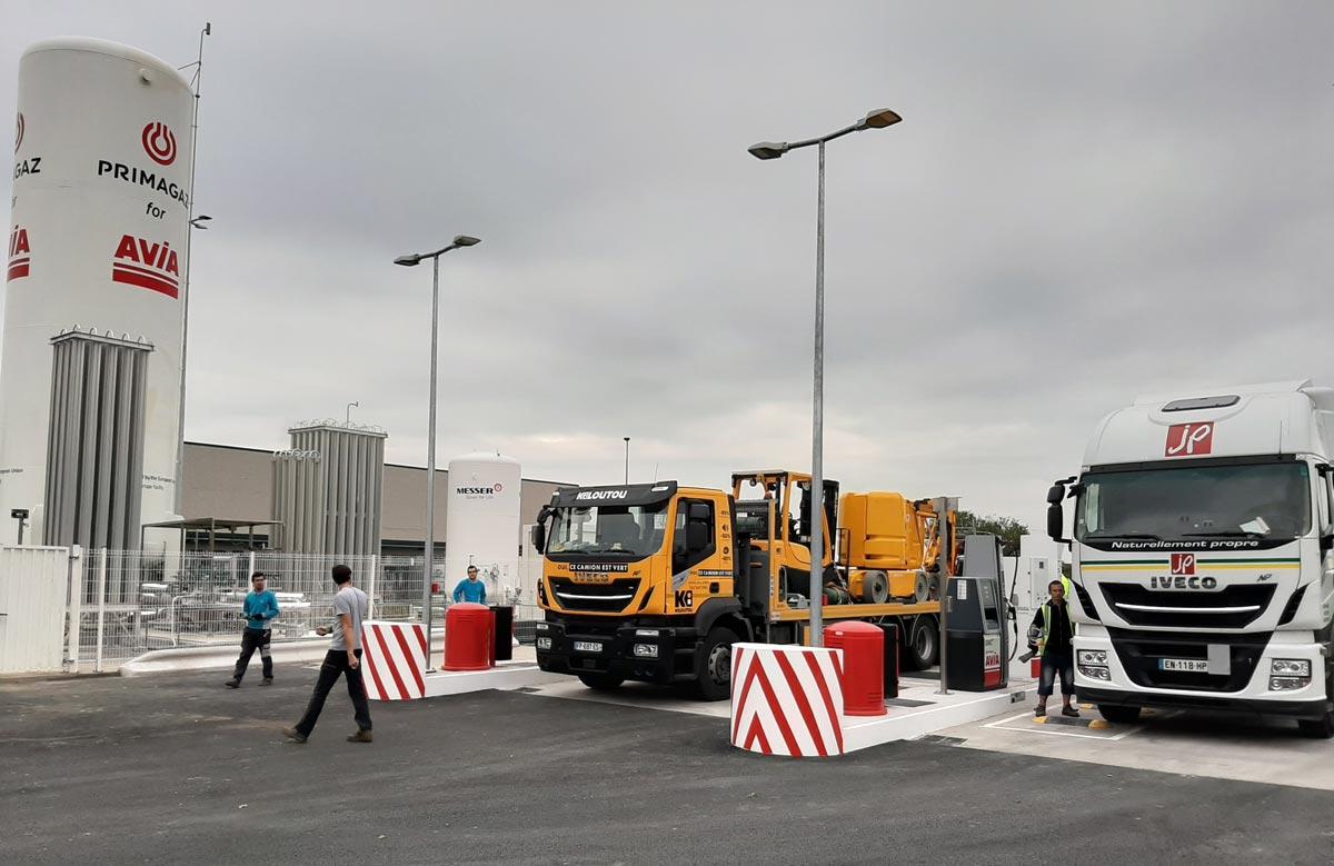 Primagaz ouvre une nouvelle station GNLC à Lille Fretin