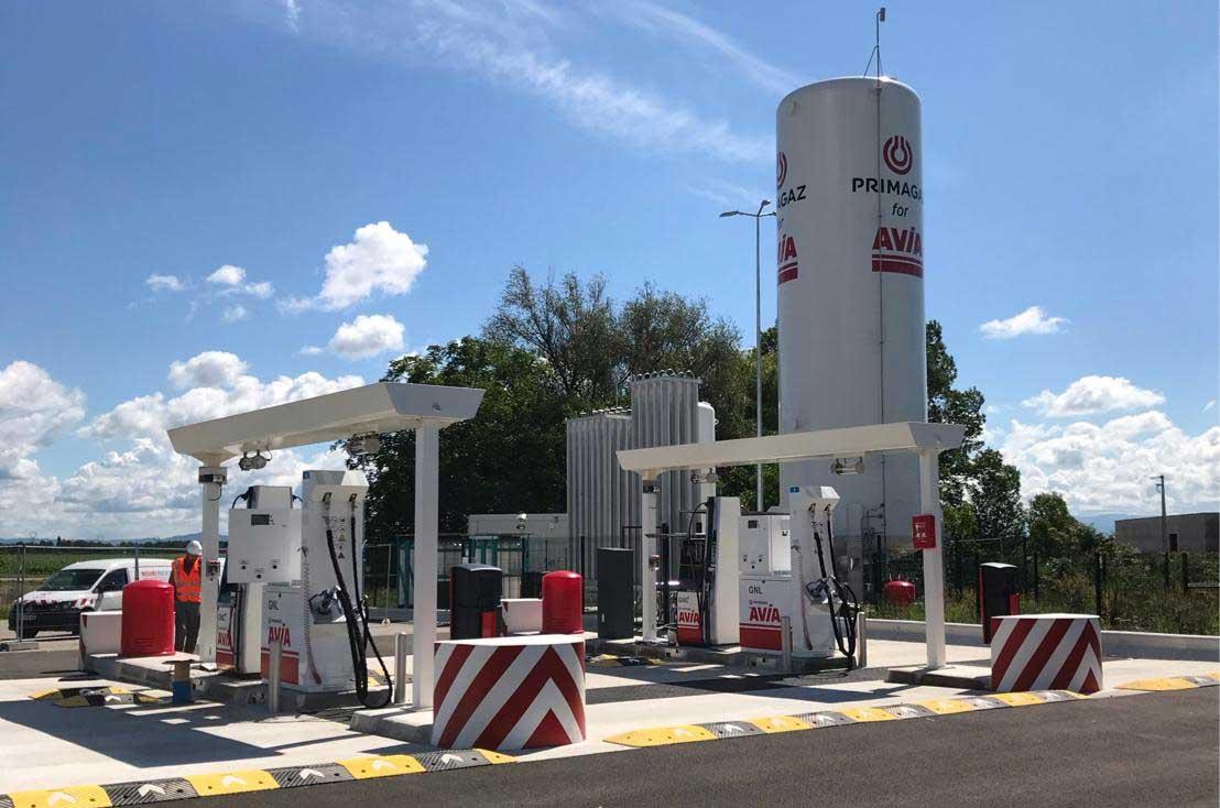 Alsace : Primagaz ouvre la station GNLC de Niederhergheim