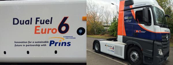 Howard Tenens va recevoir le premier camion bi-carburation Euro 6 d'Europe