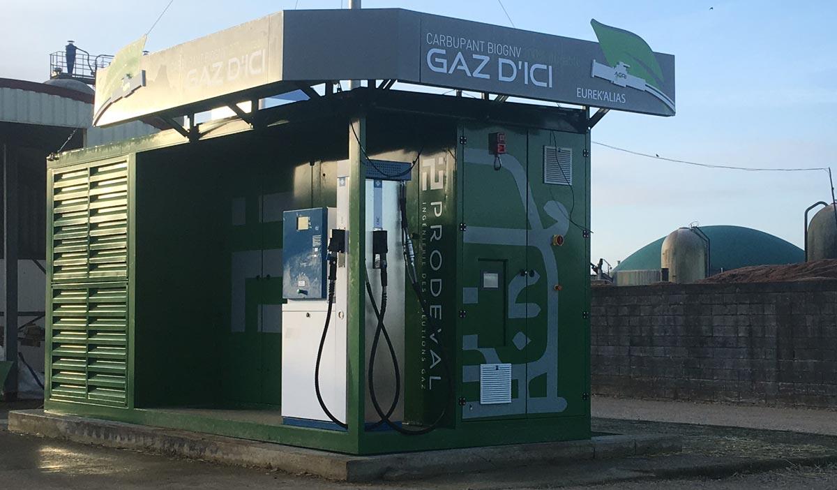 En Haute-Marne, les véhicules GNV peuvent faire le plein de biogaz à la ferme