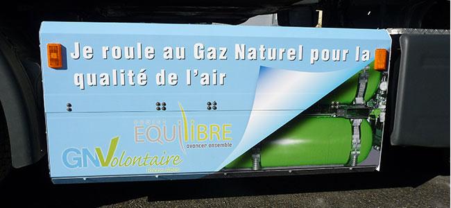 Transport routier & GNV � Le Projet Equilibre expliqu� par Pascal MEGEVAND