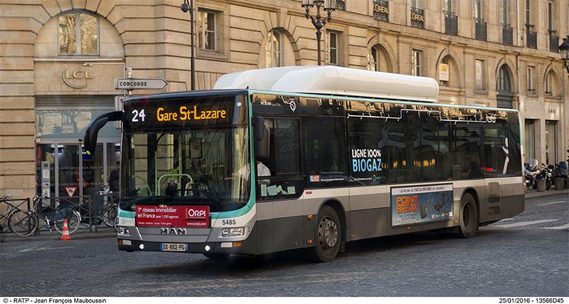 RATP et bus biogaz : entretien avec Nicolas Cartier, directeur du programme Bus 2025