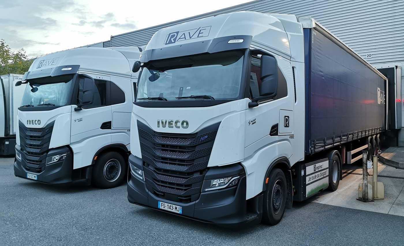 Le transporteur RAVE reçoit son cinquantième camion au gaz naturel
