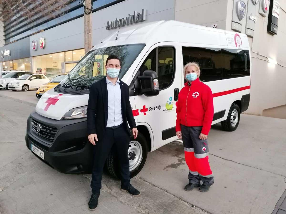 En Espagne, la Croix-Rouge roule au GNV