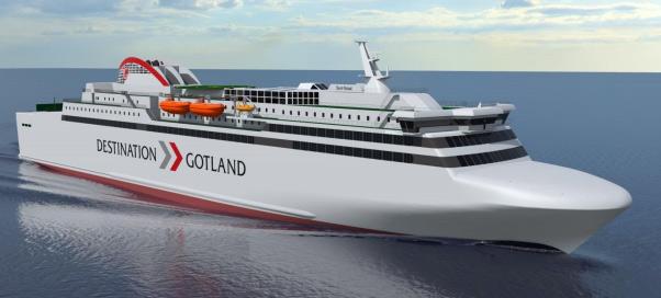 Rederi AB Gotland valide la commande d�un second navire GNL