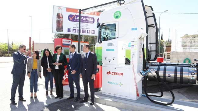 En Espagne, Redexis et Cepsa ouvrent leur première station GNV commune