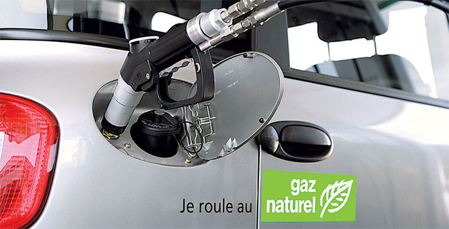 Gason � Quand Renault s�int�resse au moteur de la voiture GNV du futur