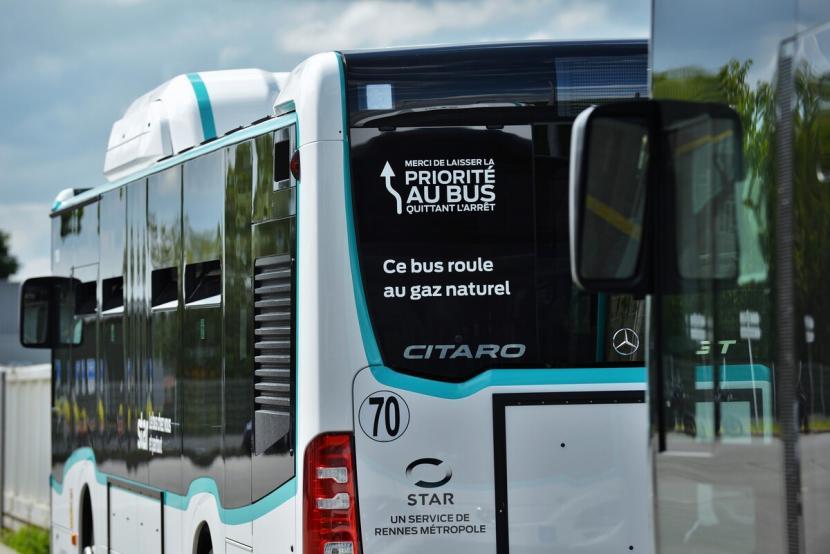 A Rennes, les bus au gaz investissent le réseau STAR