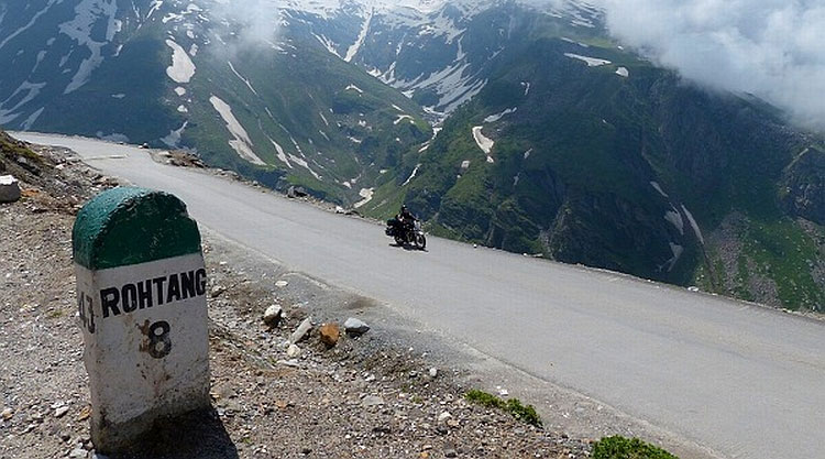 Une station GNV � 4000 m�tres d�altitude en Inde