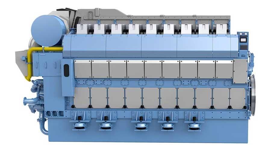 Rolls-Royce vient de lancer le moteur marin GNL Bergen B36:45