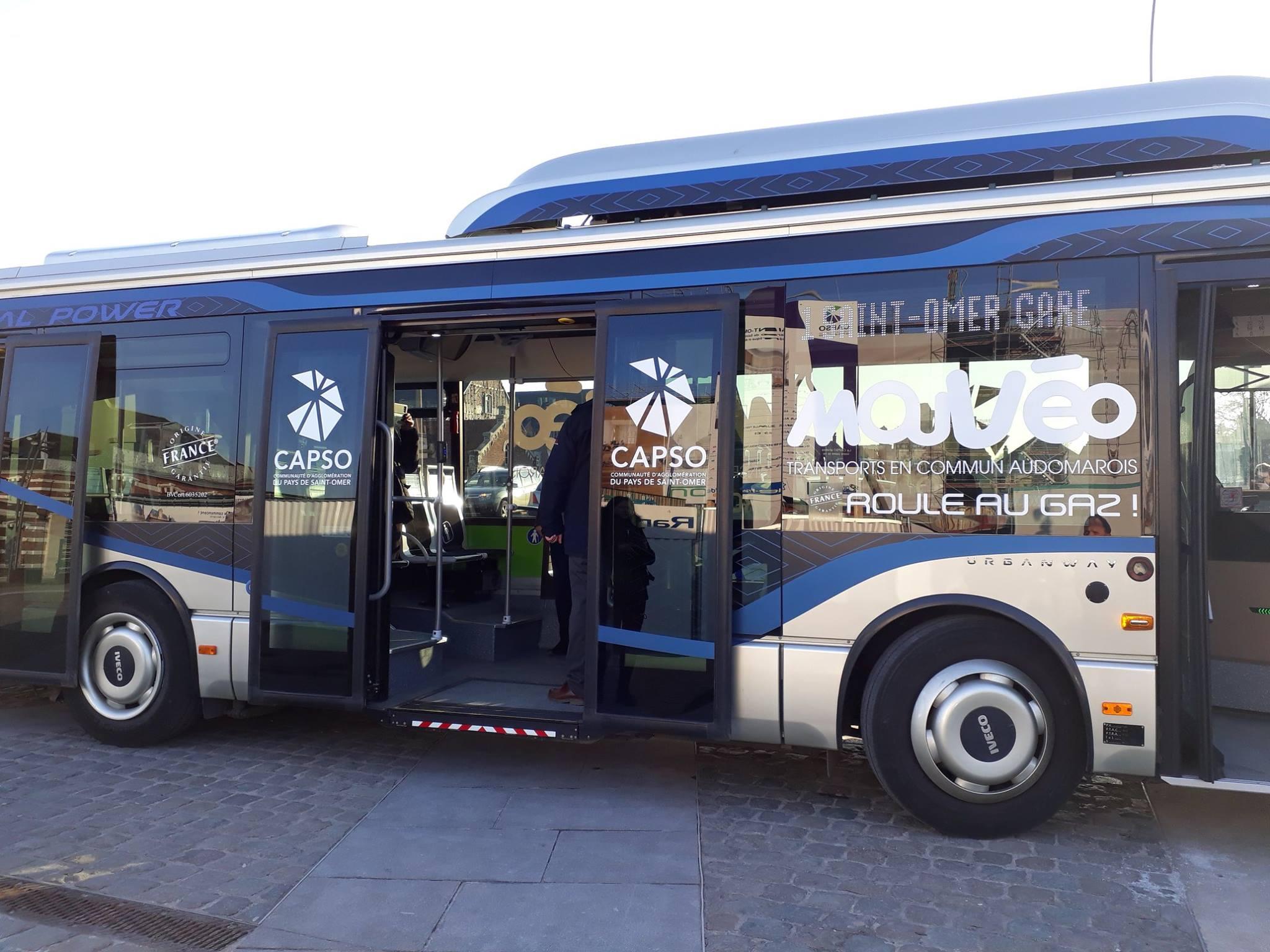 hauts de france un bus gnv en test au pays de saint omer. Black Bedroom Furniture Sets. Home Design Ideas