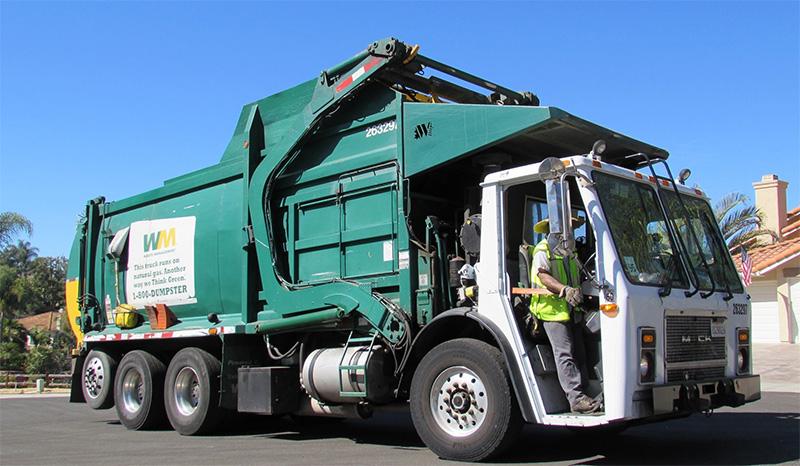 San Diego prévoit 100% de camions-bennes au GNV d'ici 2022