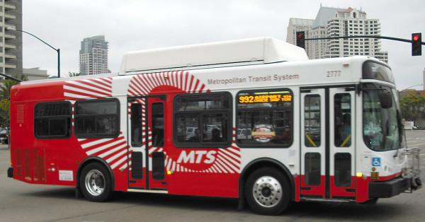 San Diego commande 45 nouveaux bus au gaz naturel