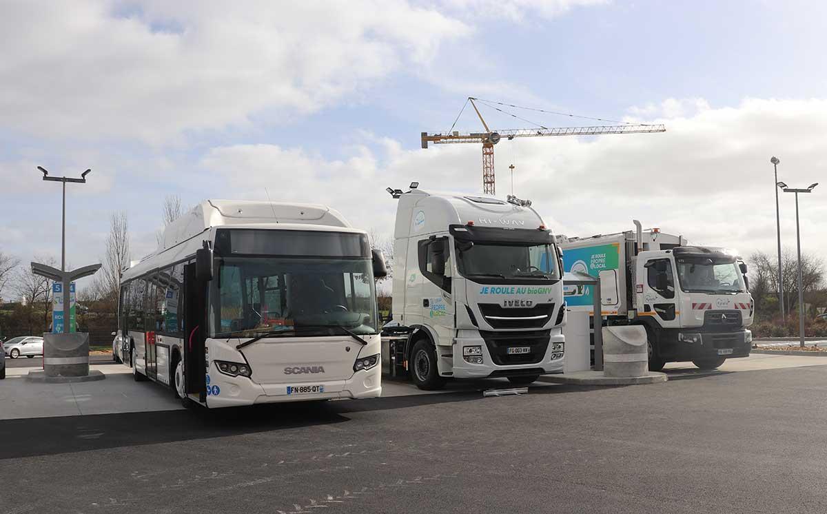 Maine-et-Loire : inauguration de la station bioGNV de Saumur
