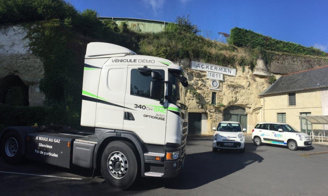 Maine-et-Loire : Saumur présente son projet de station GNV avec GRDF