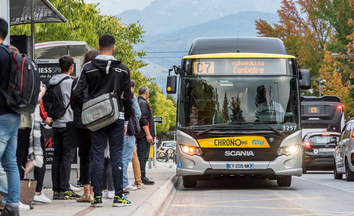 Bus GNV : Grenoble poursuit l'extension de sa flotte