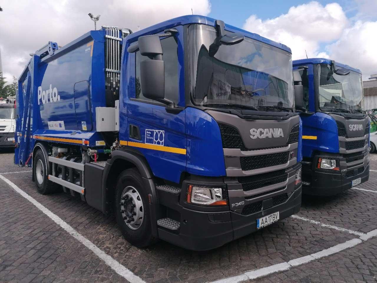 Des bennes à ordures au gaz naturel pour la ville de Porto