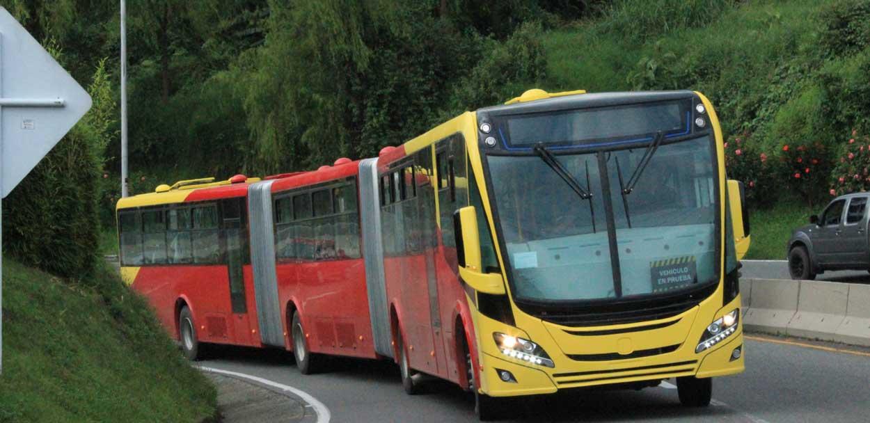 Bus GNV : commande record pour Scania à Bogota