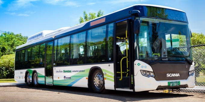 Br�sil - Scania souligne les avantages de ses bus au biom�thane