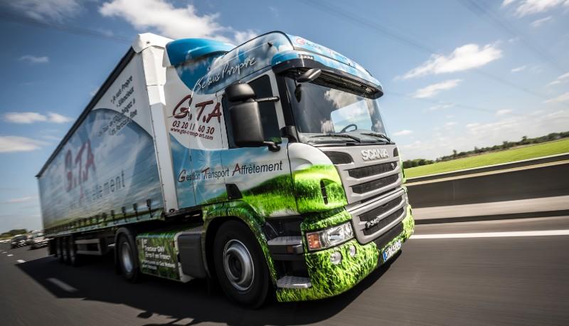 Scania pr�sentera son offre gaz naturel � l�occasion d�Expo Biogaz
