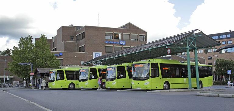 Scania livre ses premiers bus GNV en Norv�ge