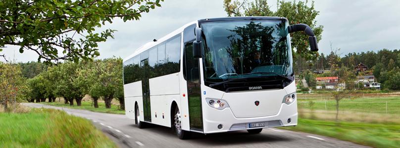 Scania lancera le premier bus interurbain au gaz naturel en 2015