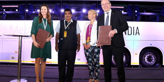 Inde - Scania et Swedfund s�engagent dans le d�veloppement du biogaz
