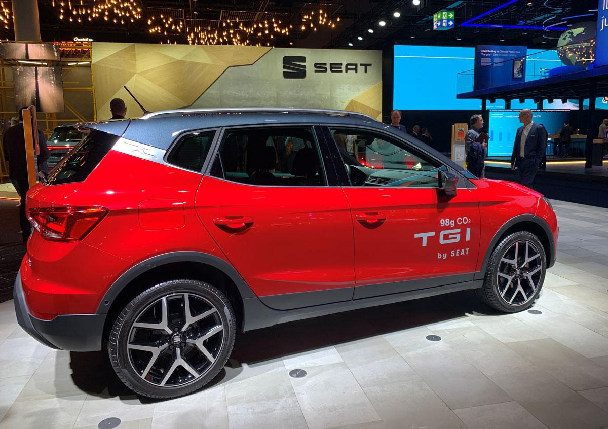 Seat Arona TGI : le SUV au gaz naturel au salon de Francfort