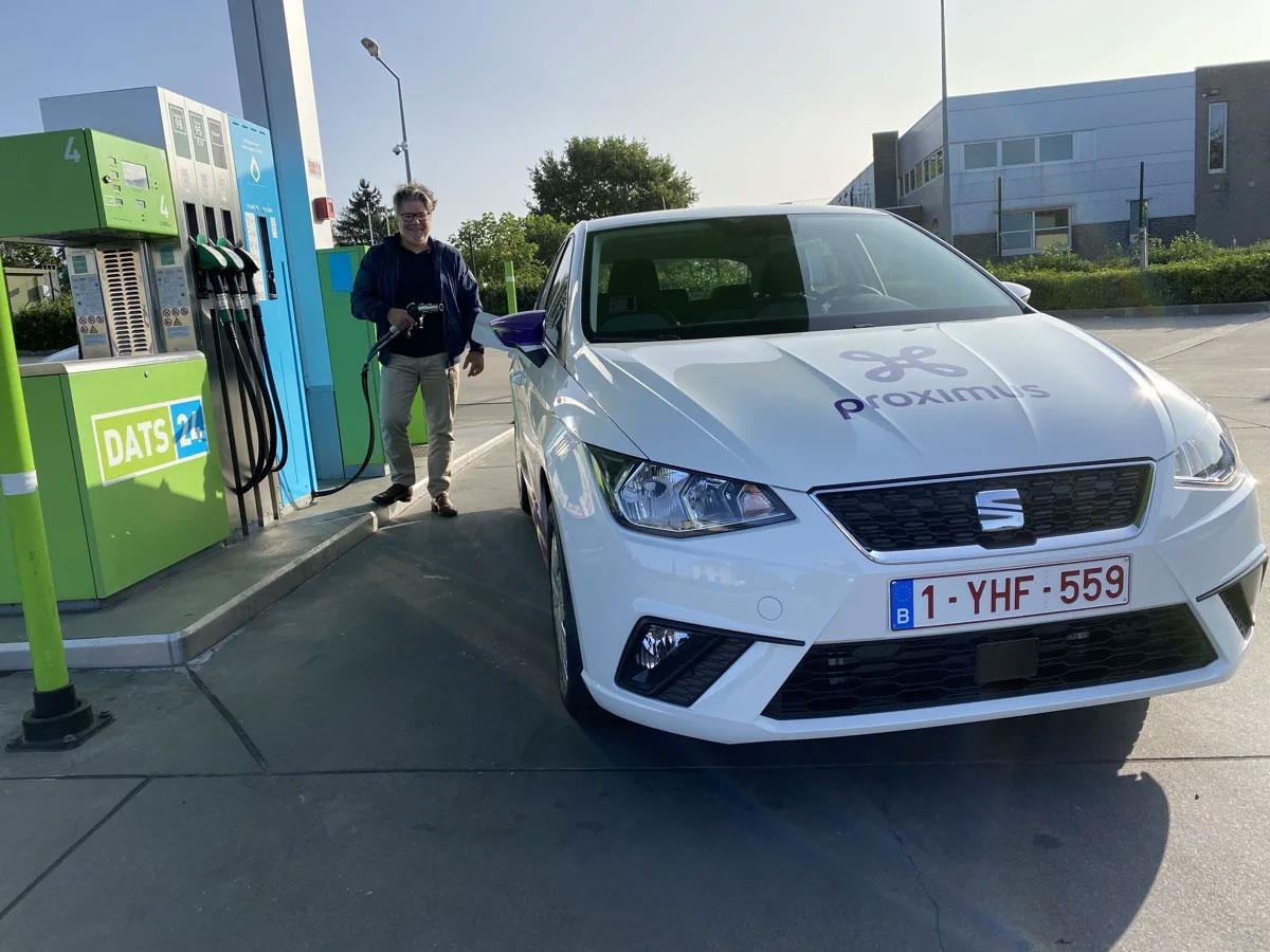 Belgique : 200 Seat Ibiza au GNV pour Proximus