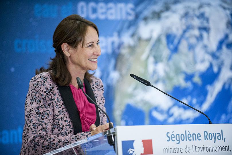 Ségolène Royal prend position pour le GNV dans la Vallée de l'Arve